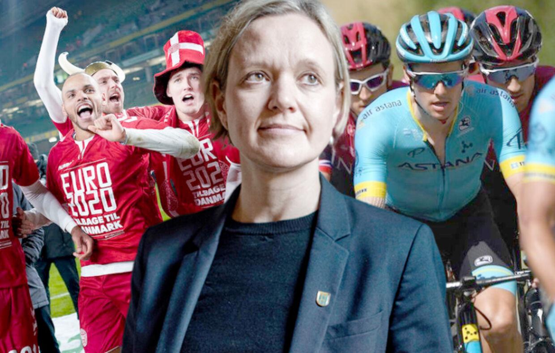 Venstre-borgmester Cecilia Lonning-Skovgaard vægter Braithwaite og co. over Fuglsang og resten af cykelrytterne.