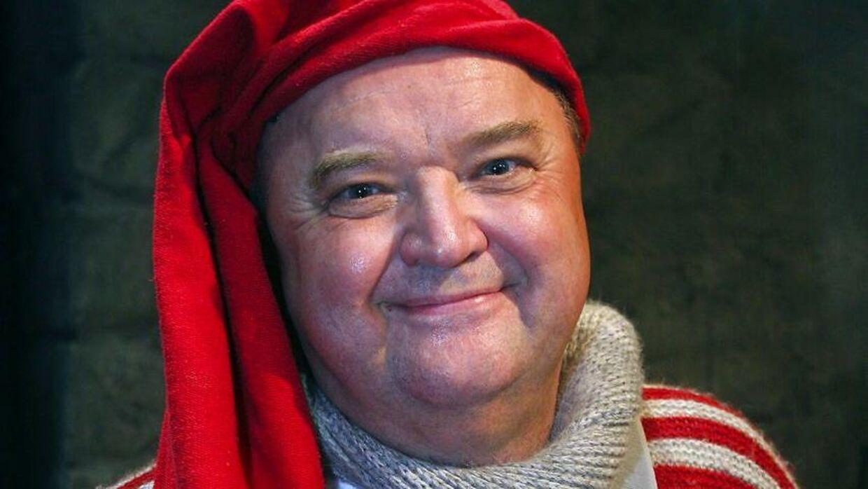 Flemming Jensen har som nissen Luffe fra Nissebanden været med i tre af DR's julekalendere.