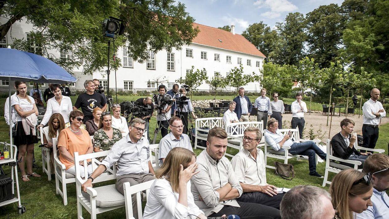 Kragerup Gods var vært for Venstres sommergruppemøde i 2019.