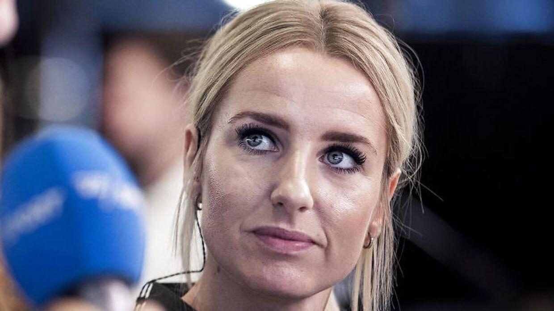 Lærke Møller og Thomas Enevoldsen er adskilt under Lærke Møllers graviditet med parrets første barn.