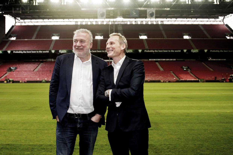 Lars Seier og Bo Rygaard.