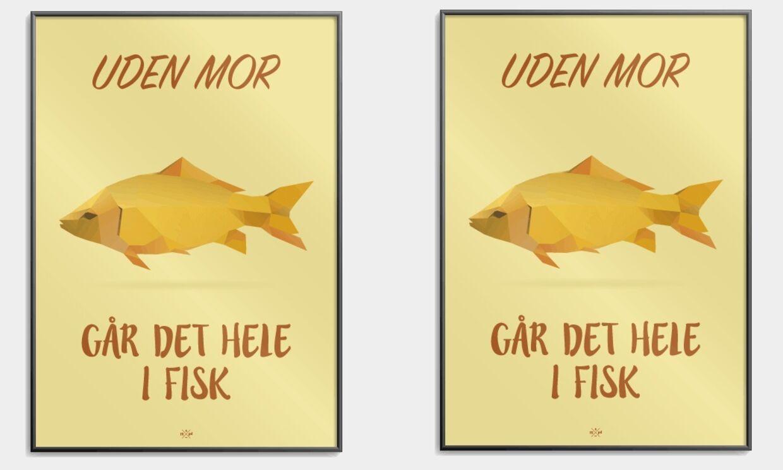 Uden mor plakat fra citatplakat.dk