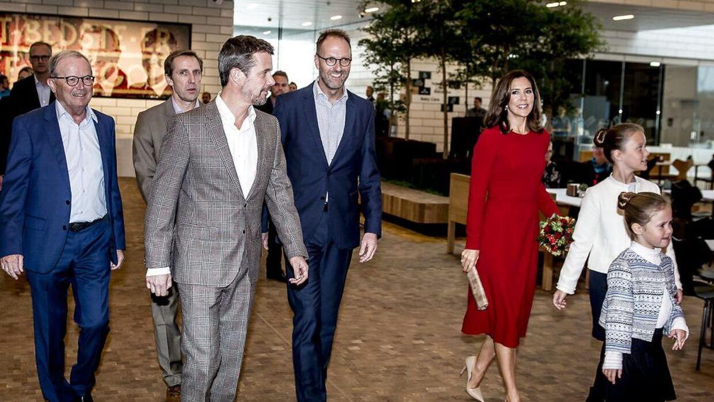 Lego-ejer Kjeld Kirk Kristiansen er også kammerherre. Og Lego er en af de virksomheder, som kronprinsparret jævnligt besøger.
