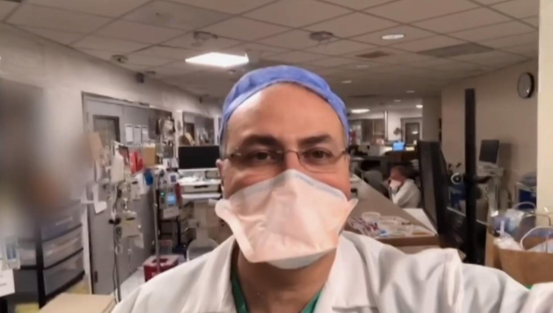 Dr. Abdel Bassily-Marcus på intensiv afdeling.
