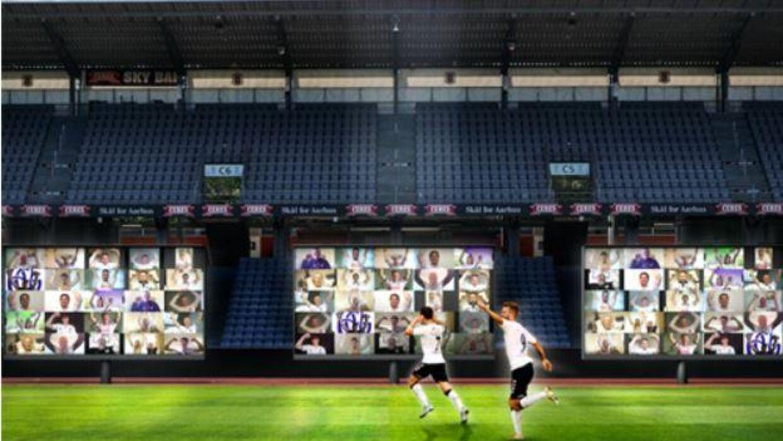 Sådan vil AGF sørge for, at fansene bliver en del af kampen mod Randers.