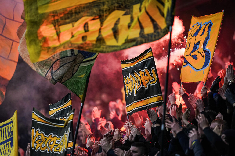 Den succesfulde støttetrøje er skabt på opfordring af Brøndbys fans.