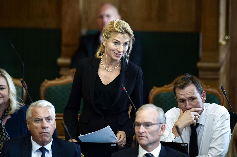 Folketingsmedlem fra Konservativ Folkeparti Katarina Ammitzbøll til åbningsdebat i Folketinget torsdag den 3. oktober 2019.