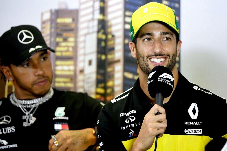 Daniel Ricciardo ser ud til at skifte til McLaren. (AFP)