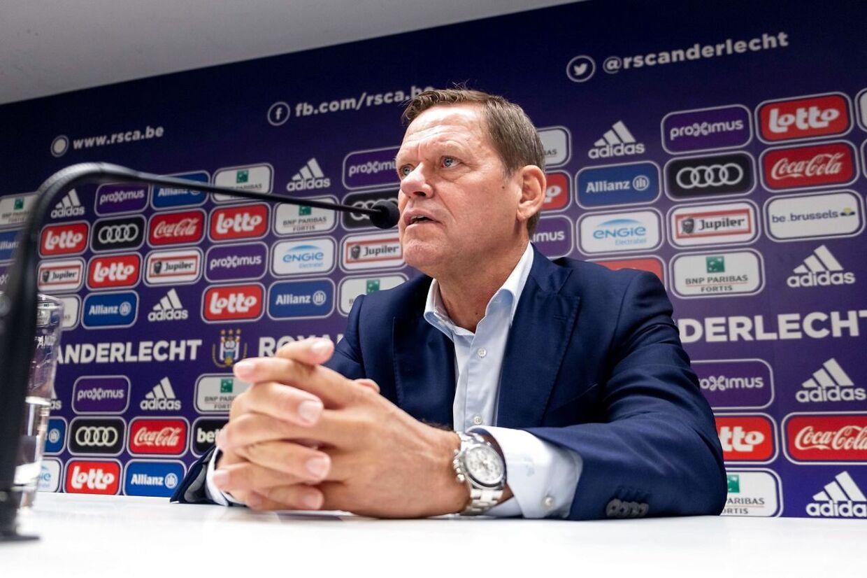 Indtil oktober 2019 var Frank Arnesen sportsdirektør i belgiske Anderlecht.