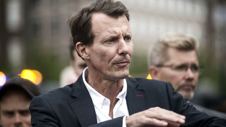 (Arkiv) Prins Joachim forudser underskud hos Schackenborg Slotskro.