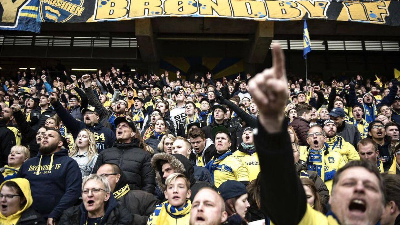 Arkivfoto. Sammenholdet er en stor del af det at være Brøndby-fan, siger Kenny Gyldenløve.