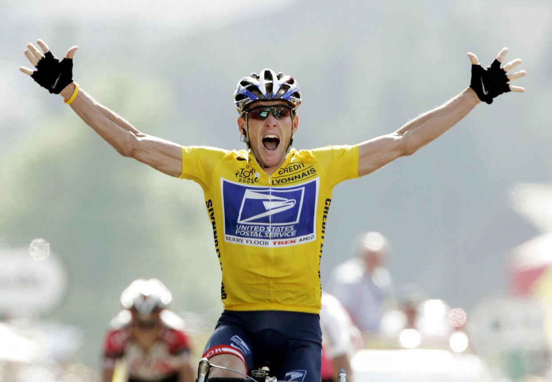 Den gule trøje var i syv år synonym med Lance Armstrong, men har var dopet.