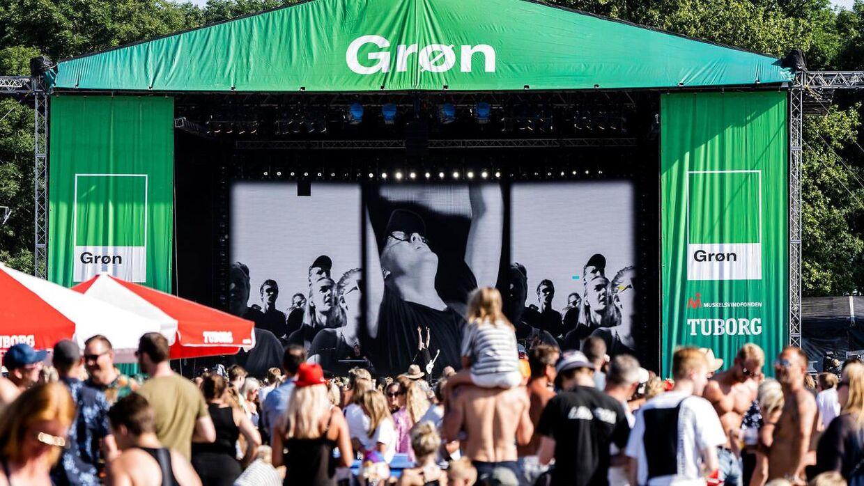 Grøn Koncert på Tiøren i København 2019.