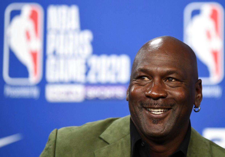 Michael Jordan var hovedpersonen i den populære tv-serie 'The Last Dance'.