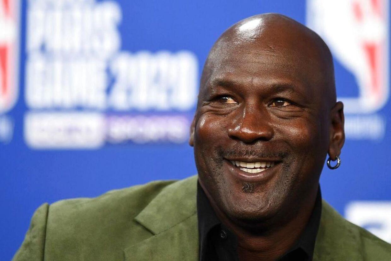 Michael Jordan betegnes som den største stjerne i NBA nogensinde.