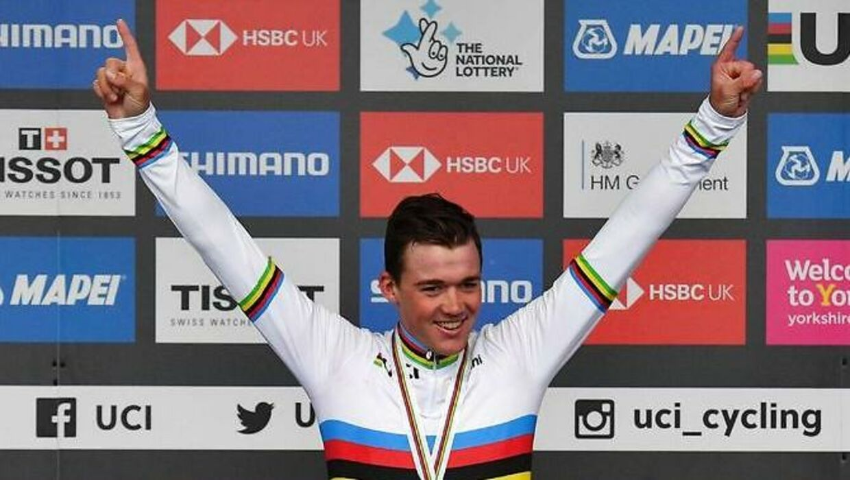 Mads Pedersen holder fast i, at han kører Tour de France i 2020. (Foto: BEN STANSALL/Ritzau Scanpix)