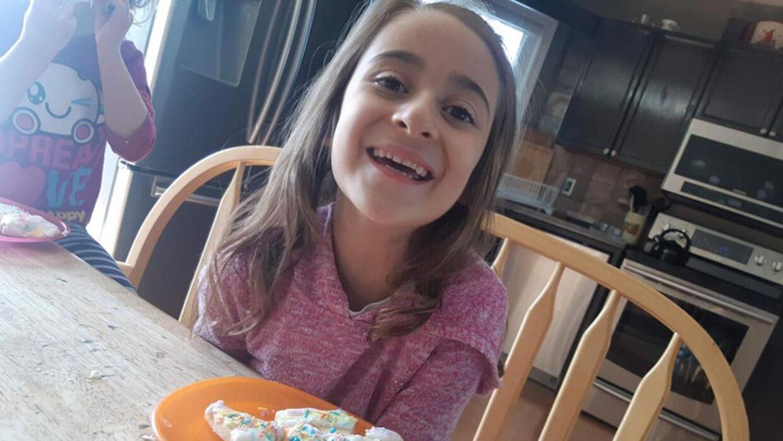 7-årige Bella Rose Desrosiers