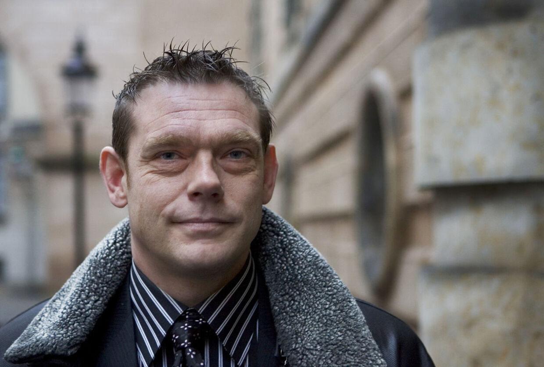 Heine Fernandez i forbindelse med sin retssag om spritkørsel.