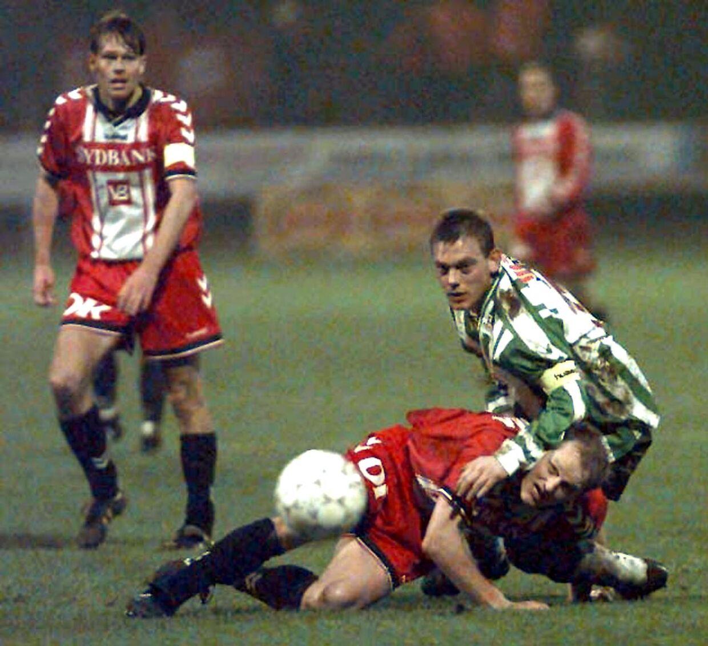 Heine Fernandez for Viborg i 1998 i en kamp mod Vejle.
