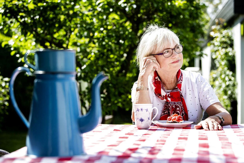 Efter snart 25 år som værdikriger på højrefløjen kæmper Pia Kjærsgaard fortsat for en hårdere flygtningepolitik. Flere hjemsendelser og færre statsborgerskaber er hendes mantra. Foto: Bax Lindhardt
