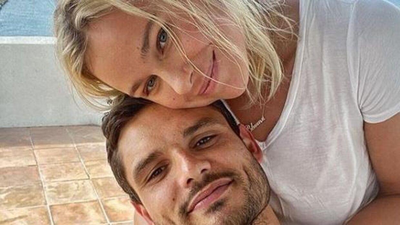 Pernille Blume med kæresten, Florent Manaudou