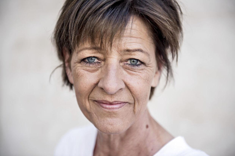 Folketingspolitiker Kirsten Normann Andersen (SF) fotograferet ved Christiansborg Slot i København, onsdag den 23. maj 2018.