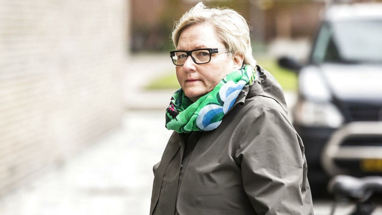 Forhenværende afdelingschef i Udlændinge-, Integrations- og Boligministeriet Lykke Sørensen ankommer til afhøring i Instrukskommissionen ved Retten på Frederiksberg, mandag den 18. maj 2020.
