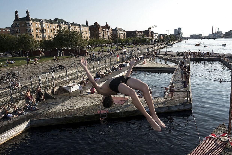 Havnebadet Islands Brygge.