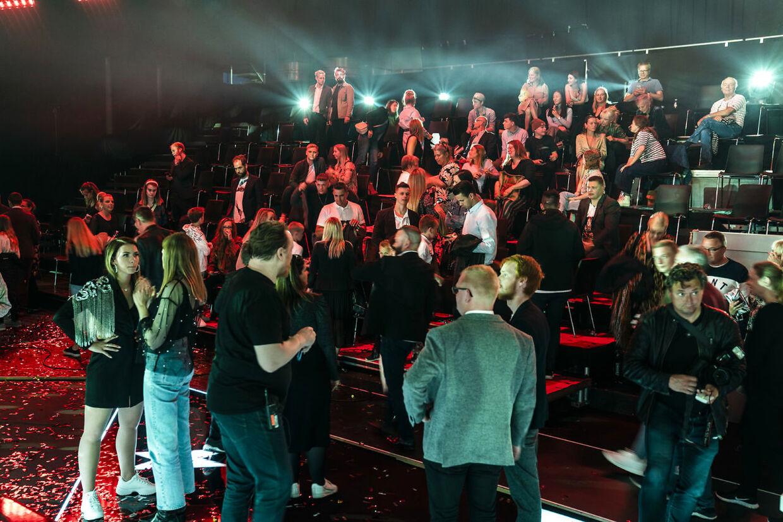 Publikum. X Factor sæson 13, Finalen afvikles i Brøndbyvester, lørdag den 23. maj 2020. (Foto: Martin Sylvest/Ritzau Scanpix 2020)