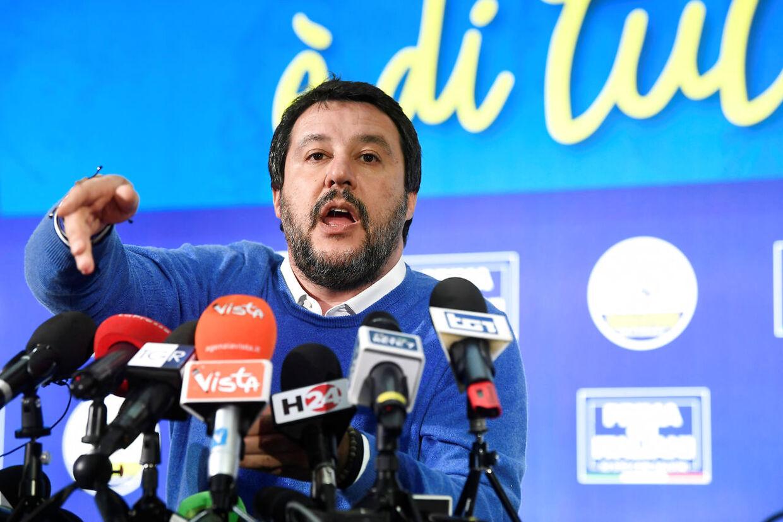Eu frygter, at Matteo Salvini trækker Italien ud af EU.