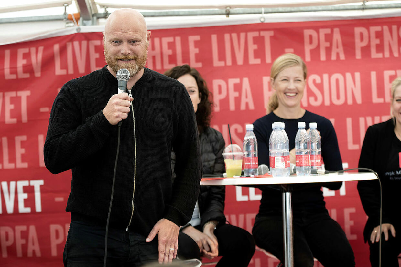 Ved Folkemødet i 2016 var Mads Steffensen ordstyrer hos PFA Pension.