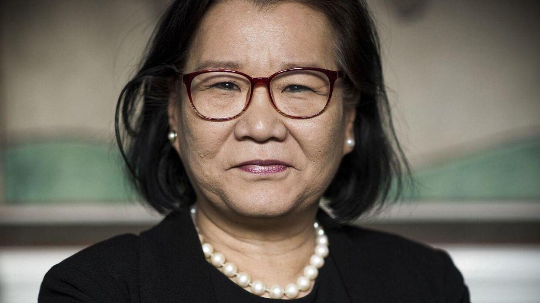Portræt af Heidi Wang som er kommunalpolitiker og gruppeformand for Liberal Alliance i Københavns Borgerrepræsentation.
