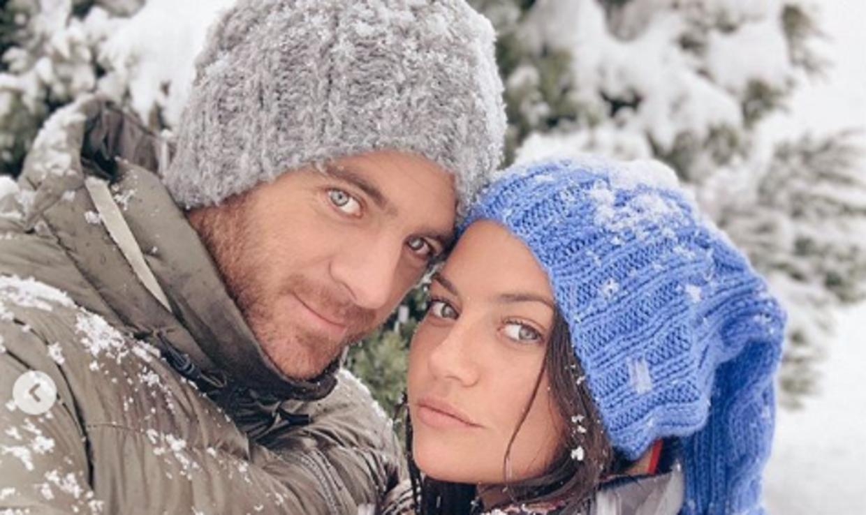 Juan Martin del Potro og Sofia Jimenez. Foto: Instagram.