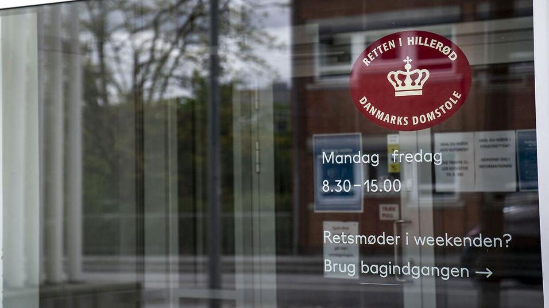 Retten i Hillerød, søndag den 17. maj 2020.