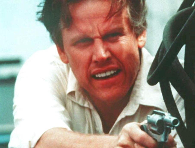 Her ses Gary Busey i filmen 'Point Break' fra 1991.