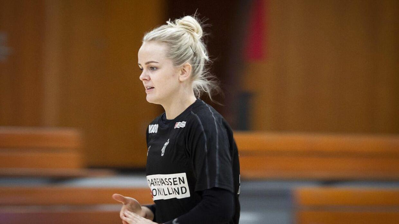 Stine Jørgensen var anfører på kvindelandsholdet i tiden under Klavs Bruun.