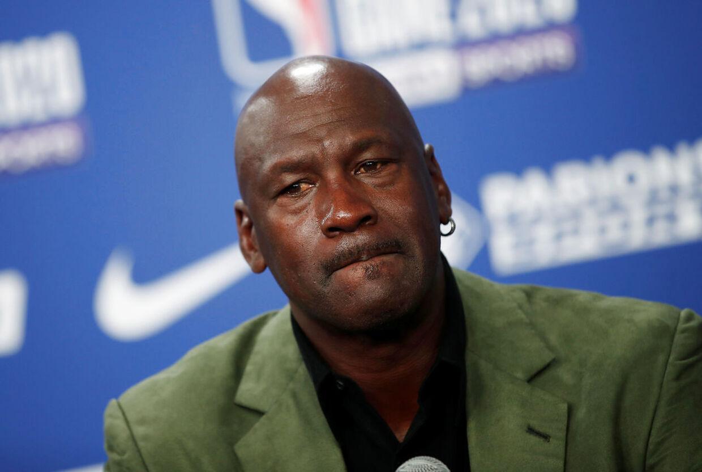 Michael Jordans udtalelse er sendt ud af det NBA-hold, han ejer, Charlotte Hornets.