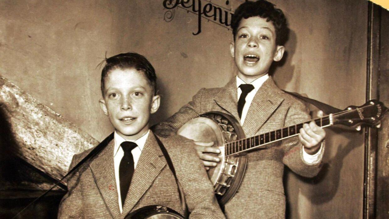 Arkivfoto: Kjeld Wennick og broderen Jan.