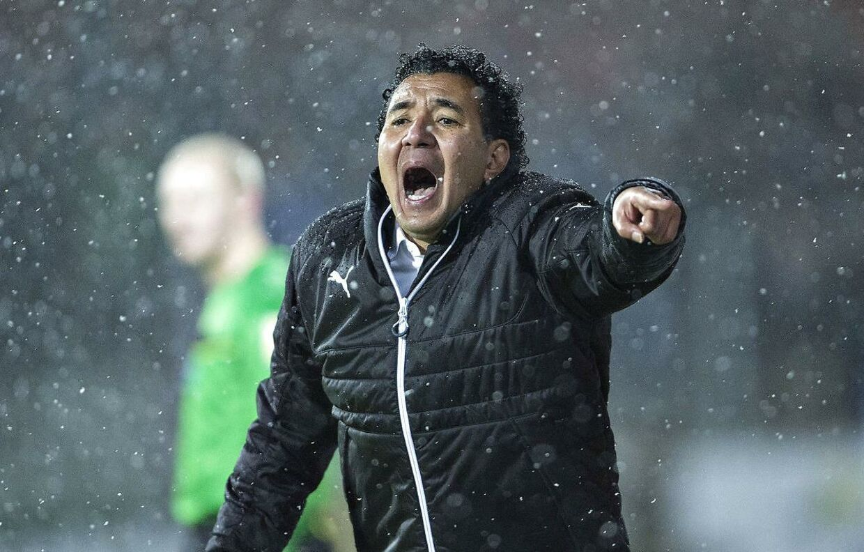 Ricardo Moniz i spidsen for Randers.