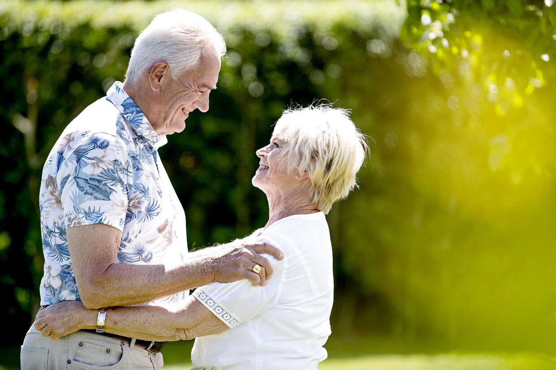 De var oppe mod stærke kræfter, da de forelskede sig i hinanden. Hverken Keld eller Hildas forældre var nemlig begejstrede for det umage match.