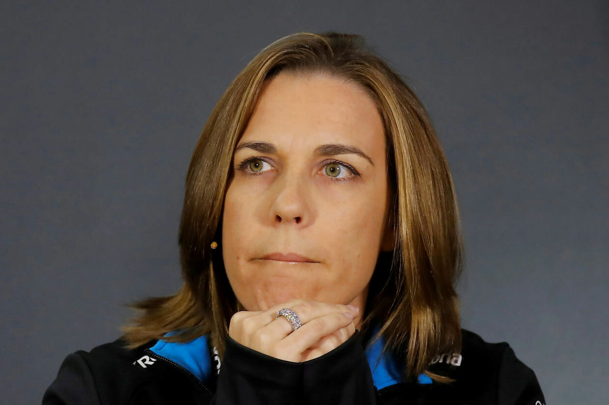 Claire Williams står i spidsen for Williams-holdet, som hendes far, Frank Williams, i sin tid var med til at stifte.