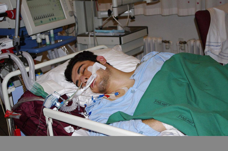 Ekrem Sahin i respirator efter tumult med personalet i Kolding Arrest.
