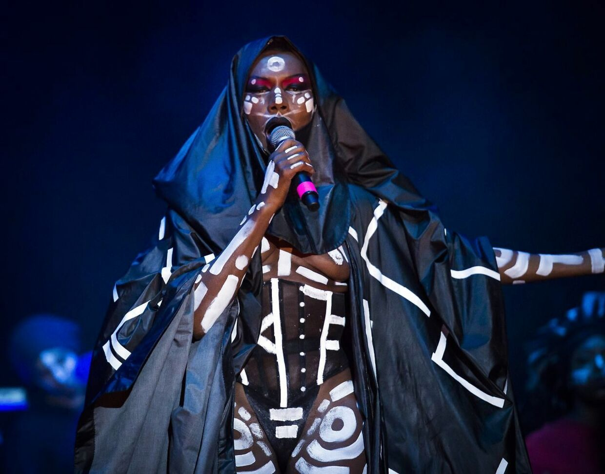 Grace Jones på Northside i 2015.