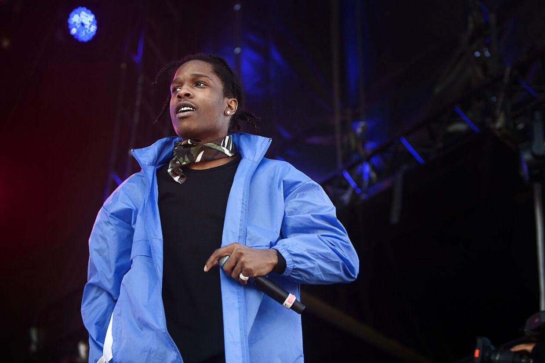 A$AP Rocky på Northside i 2014.