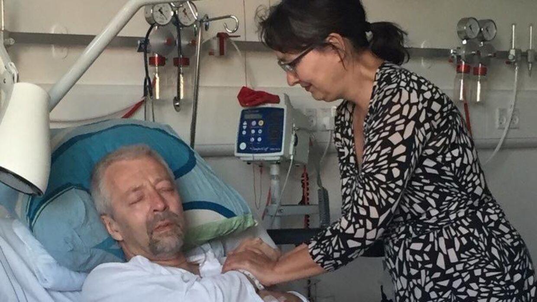 Beskeden om, at han var ramt af kræft, ramte Lennart Hilfeldt hårdt. (Privatfoto)