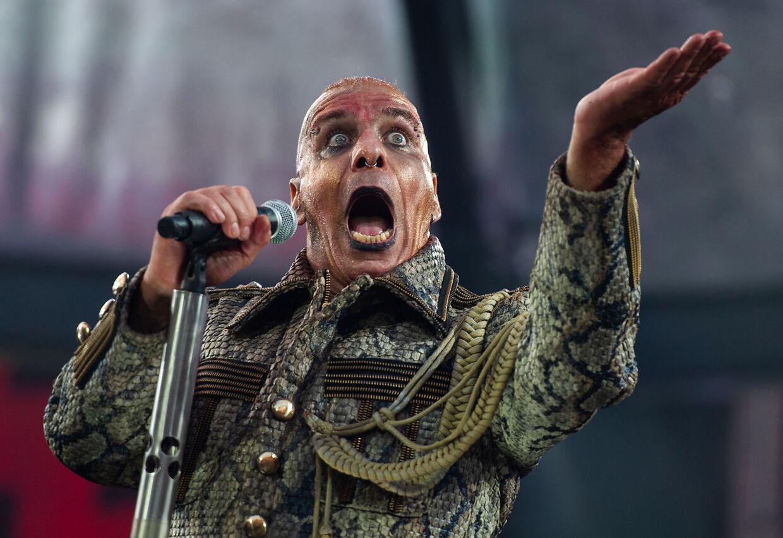 Till Lindemann, forsanger i Rammstein.