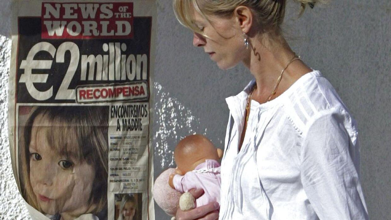 Det billede er taget tilbage i 2007 og viser Kate McCann, mor til Madeleine, som forsvandt på en ferie i Portugal samme år.
