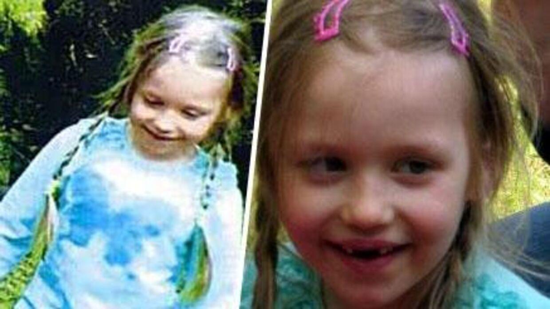 Her ses 5-årige Inga Gehricke på billeder, der blev taget få øjeblikke, før hun forsvandt.