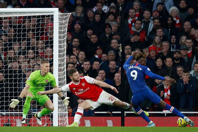Tammy Abraham scorede sejrsmålet mod Arsenal sidst i december, da Chelsea besejrede rivalerne 2-1.