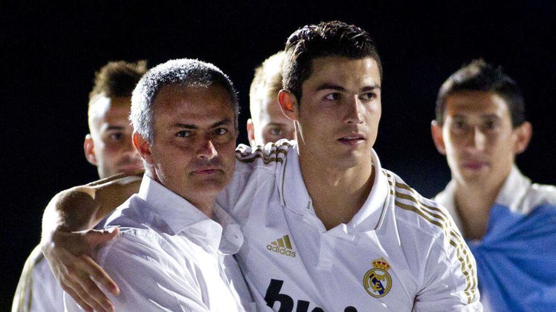 Ronaldo og Mourinho havde også gode tider sammen i Real Madrid.